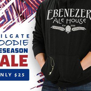 Ebenezer Ale House tailgate hoodie